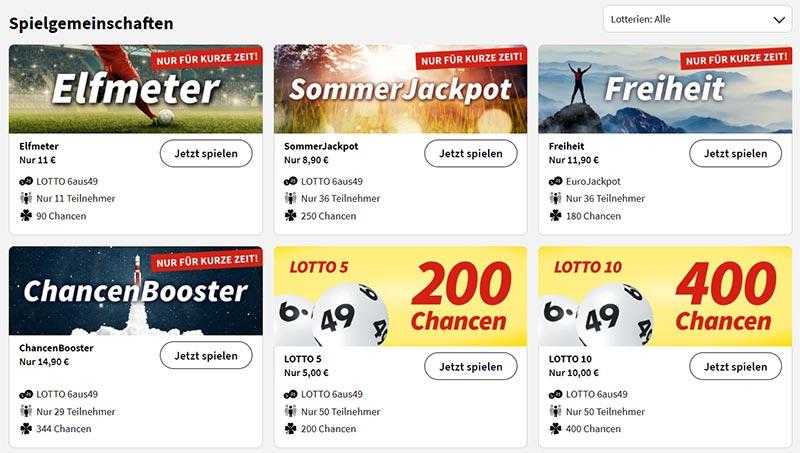 Lottohelden Spielgemeinschaften